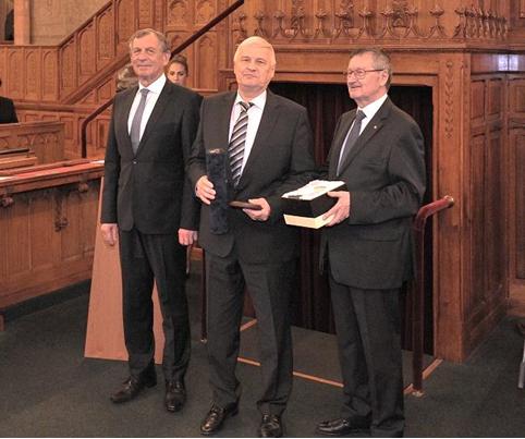 Balogh Géza életműdíjat kapott